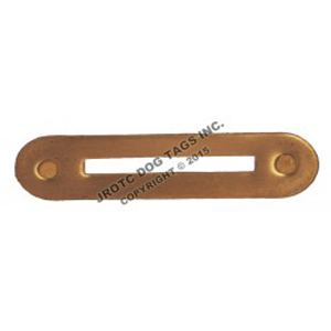 Ribbon Rack Single Mount Brass (Each)