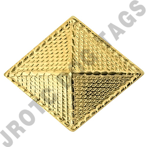 Finance Army Officer Collar Device (Pair)