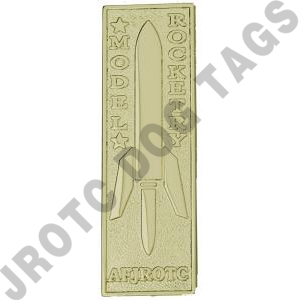 Model Rocketry Badge (Gold) each