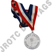 Cadet Command Challenge Neck Medal (Silver) (Each)