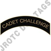 Cadet Challenge (Black) Arc Pins (Each)