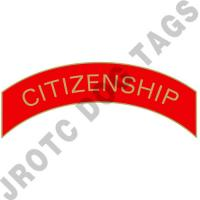 Citizenship (Red) Arc Pins (Each)