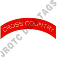 Cross Country (Red) Arc Pins (Each)