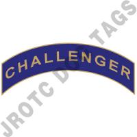 Challenger (Blue) Arc Pins (Each)