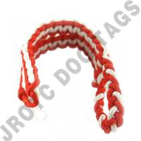 Orange / White Shoulder Cord (Button Loop) (Each)