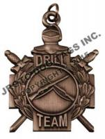 N-3-4 (Medal Only) Bronze Drill Team - Each