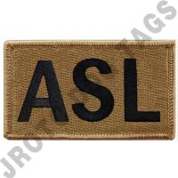 OCP ASL Leadership Patch