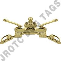 Armor Army Officer Collar Device (Pair)