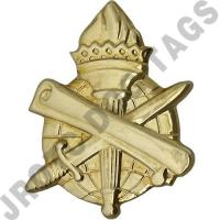 Civil Affairs Army Officer Collar Device (Pair)