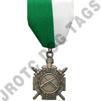 Drill Team Stock Medal