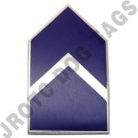 Second Lieutenant AFJROTC Pin on Rank (PR)