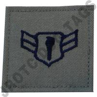 Airman 1st Class (A1C) ABU Rank JROTC Hook Back (Each)