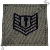 Technical Sergeant ABU Rank JROTC Hook Back (Each)