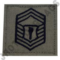 Senior Master Sergeant (SMSGT) ABU Rank JROTC Hook Back (Each)