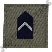 2nd Lieutenant (2nd LT) ABU Rank JROTC Hook Back (Each)