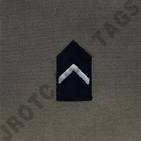 2nd Lieutenant (2nd LT) ABU Rank JROTC Sew On (Pair)