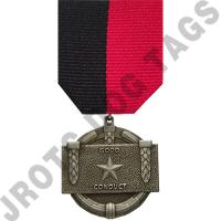 JCC Good Conduct Medal Set