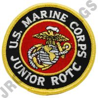 U.S. Marine Corps JROTC Color Patch (Each)