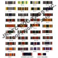 JROTC Ribbon N Series (Each)