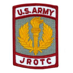 Army JROTC Cloth Patch Color