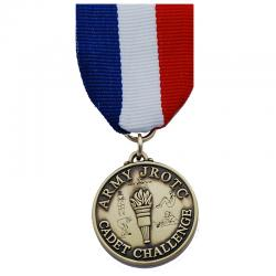 Cadet Command Challenge Chest Medal Bronze With Drape