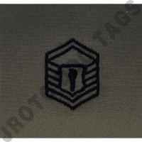 AfJROTC Abu MSGT Rank Patch Sew On Patch