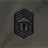 AfJROTC Abu CMSGT Rank Patch Sew On