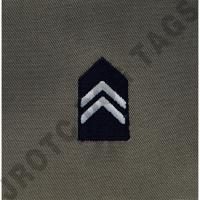 AfJROTC Abu 1st Lt Rank Patch Sew On